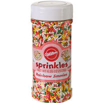 Rainbow Jimmies 6.25oz