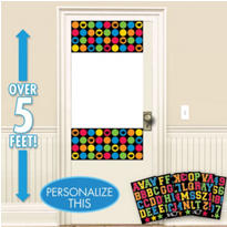 Multicolor Personalized Graduation Door Decoration
