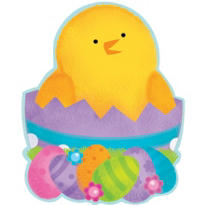 Hatching Chick Cutout