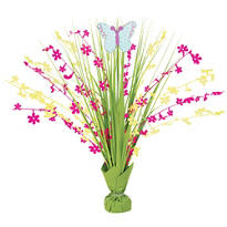 Foil Spring Butterfly Spray Centerpiece 18in