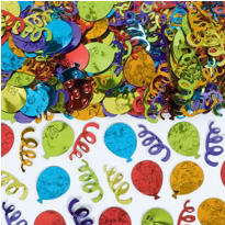 Metallic Party Balloon Confetti 2 1/2oz