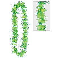 Green Tinsel Lei