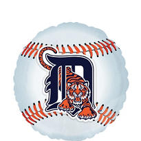 Detroit Tigers Foil Balloon 18in