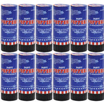 Patriotic Confetti Party Poppers 12ct<span class=messagesale><br><b>83¢ per piece!</b></br></span>