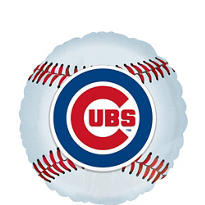 Chicago Cubs Foil Balloon 18in