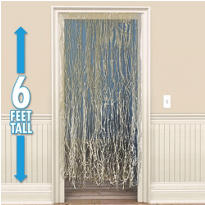 Raffia Door Curtain 72in