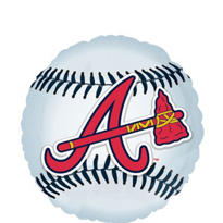 Atlanta Braves Foil Balloon 18in
