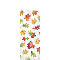 Small Fall Leaves Party Bag 9 1/2in x 4in x 2 1/4in 20ct