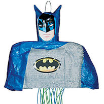 Pull String Batman Pinata 18in
