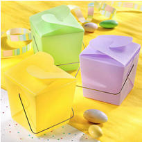 Multicolor Mini Baby Shower Favor Pails 12ct