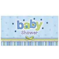 Carter Boy Baby Shower Embellished Invitations 8ct