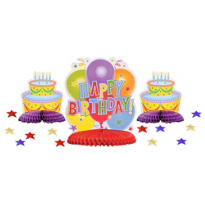 Happy Birthday Table Decorating Kit 15pc