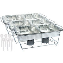 Chafing Dish Buffet Set 24pc