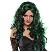 Green Witch Wig