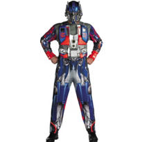 Adult Optimus Prime Costume Deluxe - Transformers