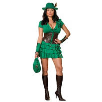 Adult Robyn da Hood Costume Plus Size
