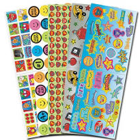 Teacher Stickers Value Pack 10 Sheets