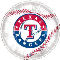 Texas Rangers 18in Balloon