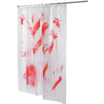 Bloody Shower Curtain 72in x 70in
