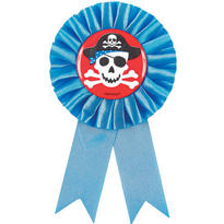 Pirate's Treasure Award Ribbon