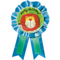 Jungle Animals Award Ribbon
