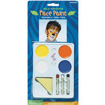 Jungle Animals Face Paint Kit