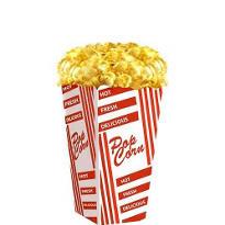 Popcorn Life Size Cardboard Cutout 56in