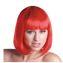 Charm Red Premium Wig