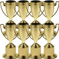 Award Trophy Value Pack 8ct