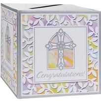 Religious Card Box Holder