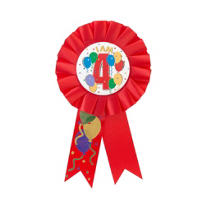 I Am 4 Birthday Award Ribbon