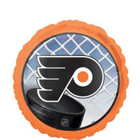 Foil Philadelphia Flyers Balloon 18in