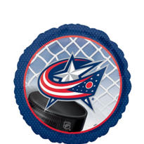 Foil Columbus Blue Jackets Balloon 18in