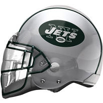 New York Jets Helmet Foil Balloon 26in