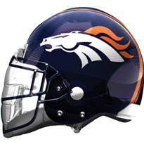 Denver Broncos Helmet Foil Balloon 26in
