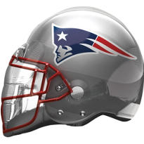 New England Patriots Helmet Foil Balloon 26in