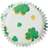 Shamrock Cupcake Baking Cups 50ct