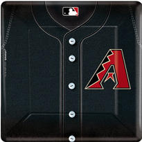 Arizona Diamondbacks Dinner Plates 18ct