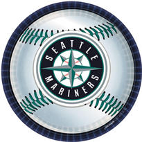 Seattle Mariners Lunch Plates 18ct