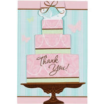 Blushing Bride Bridal Shower Thank You Notes 20ct