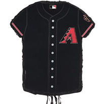 Arizona Diamondbacks Pull String Pinata 23in x 18in