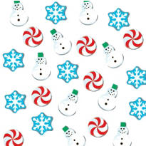 Christmas Erasers 144ct <span class=messagesale><br><b>3¢ per piece!</b></br></span>