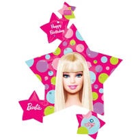 Foil Supershape Barbie Balloon 35in