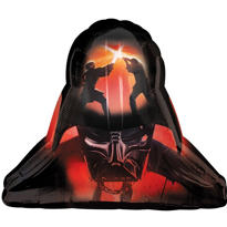 Foil Darth Vader Helmet Balloon 29in