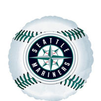 Seattle Mariners Foil Balloon 18in
