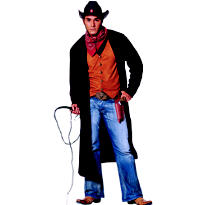Adult Gunslinger Costume Plus Size