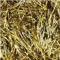 Gold Metallic Tinsel Grass 2oz