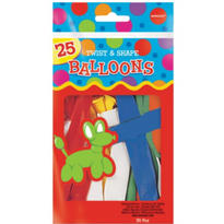 Animal Twist & Shape Balloons 25ct