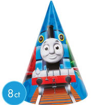 Thomas the Tank Engine Cone Hats 8ct