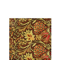 Pomegranate Brown Beverage Napkins 20ct